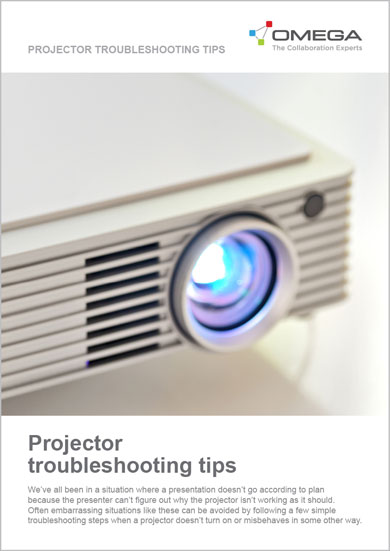 Omega Projector Troubleshooting tips