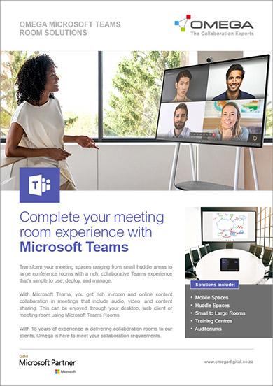 Omega Microsoft Teams Room Solutions